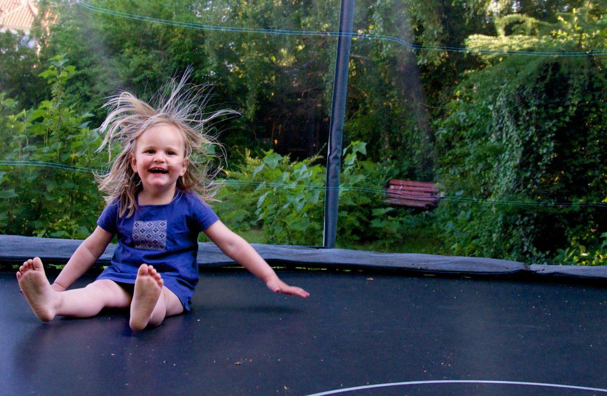 inkontinens, trampolin